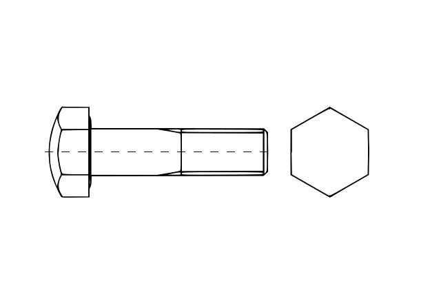 AN 261 śruba stopy gąsienicy - gąsienicowa
