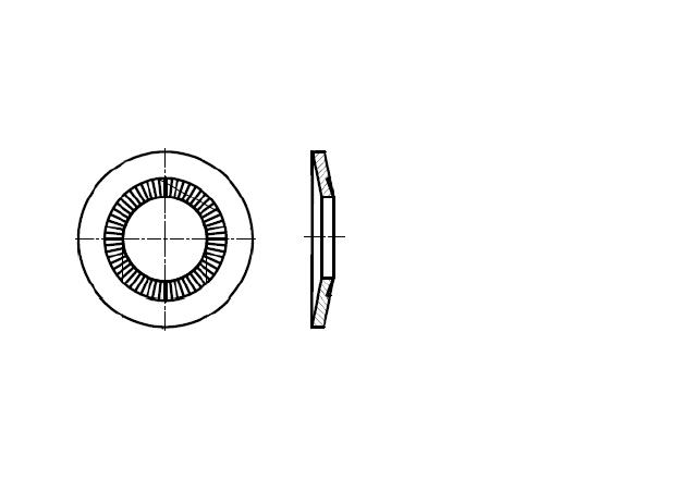 NFE 25-511L podkładka kontaktowa poszerzona