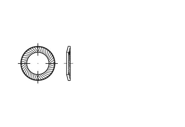Schnorr S podkładka sprężysta
