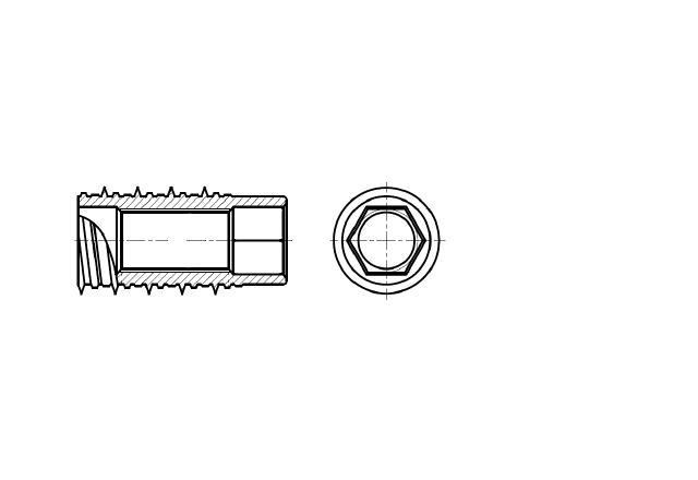 kotwa wkręcana do betonu z gwintem wewnętrznym - AN 214