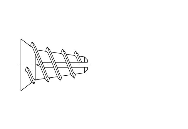 kołek tworzywowy do płyt gipsowych - AN 309