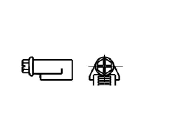 zamek do opaski zaciskowej ślimakowej - AN 64