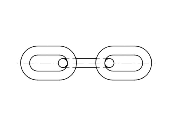 DIN 766 łańcuch techniczny stalowy