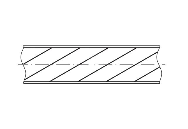 lina stalowa nierdzewna w otulinie PCV