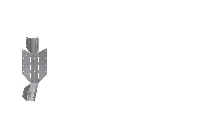 kalenicowy wieszak belki dwuteowej LSSUI