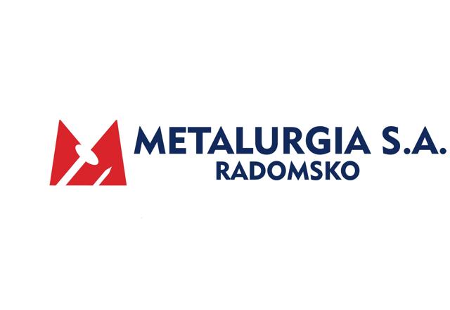 logo firmy Metalurgia Radomsko