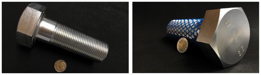 Śruba drobnozwojna DIN 960 M42x3x120 8.8 OC