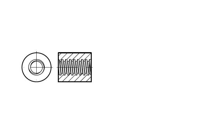 Nakrętka trapezowa okrągła - AN 117