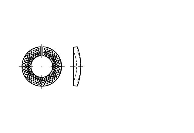 SN 88130 Podkładka sprężysta blokująca