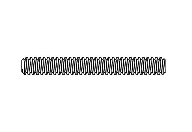 DIN 103 Śruba trapezowa
