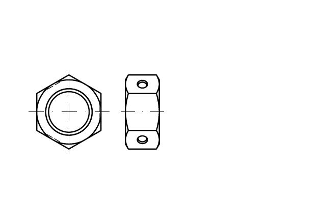 SN 84032 Nakrętka samozabezpieczająca BILOC